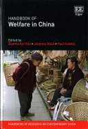Handbook of Welfare in China