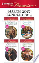 Harlequin Presents March 2013   Bundle 1 of 2