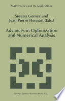 Advances In Optimization And Numerical Analysis book