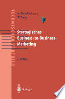 Strategisches Business-to-Business-Marketing