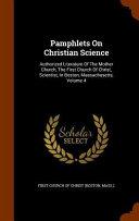 Pamphlets on Christian Science