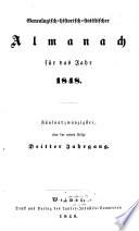 Genealogisch-historisch-statistischer Almanach