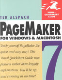 PageMaker 7 for Windows and Macintosh