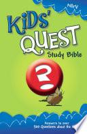 NIrV  Kids  Quest Study Bible  eBook