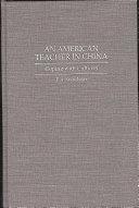 An American Teacher in China