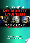 The Certified Reliability Engineer Handbook  Second Edition