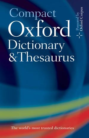 Compact Oxford Dictionary and Thesaurus - ISBN:9780199558476