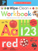 Wipe Clean Workbooks  Pre K  Scholastic Early Learners