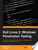 Kali Linux 2  Windows Penetration Testing