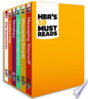 HBR s 10 Must Reads Boxed Set  6 Books   HBR s 10 Must Reads