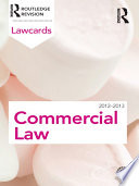 Commercial Lawcards 2012 2013