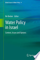 Water Policy in Israel