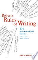 Robert s Rules of Writing