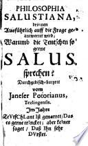 Philosophia Salustiana