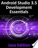 Android Studio 3 5 Development Essentials Java Edition