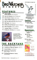 Bird Watcher s Digest