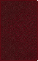 ESV Large Print Value Thinline Bible (Trutone, Ruby, Vine Design) : ...