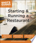 Idiot s Guides  Starting and Running a Restaurant