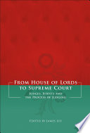 From House of Lords to Supreme Court