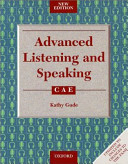 Advanced Listening and Speaking