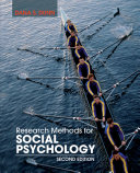 Research Methods For Social Psychology 2nd Edition