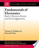 Fundamentals of Electronics: Book 1