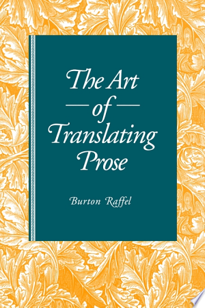 Art of Translating Prose - ISBN:9780271039053