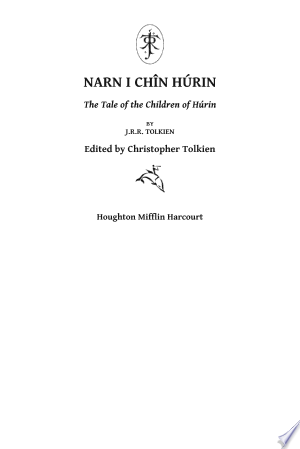 The Children Of Húrin - Isbn:9780547952109 img-1