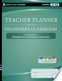 Teacher Planner for the Secondary Classroom