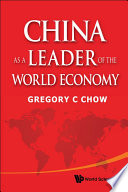China as a Leader of the World Economy