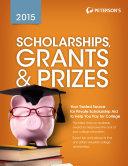Scholarships  Grants   Prizes 2015