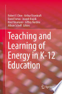 Teaching and Learning of Energy in K     12 Education
