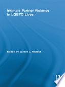 Intimate Partner Violence in LGBTQ Lives