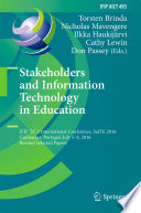 Stakeholders And Information Technology In Education