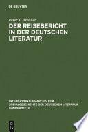 Der Reisebericht in der deutschen Literatur