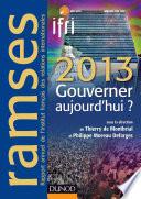 download ebook ramses 2013 - gouverner aujourd'hui ? pdf epub