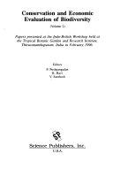 Conservation and economic evaluation of biodiversity
