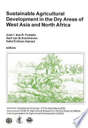 Sustainable Agricultural Development in the Dry Areas of West Asia and North Africa
