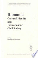 Romanian Cultural Identity And Education For Civil Society