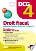 Dcg 4 Droit Fiscal Manuel Et Applications Mill Sime 2021 2022