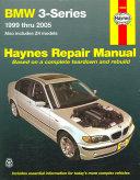Bmw 3 Series Automotive Repair Manual