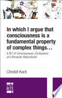 In which I argue that consciousness is a fundamental property of complex things...