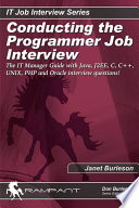 Conducting The Programmer Job Interview
