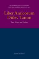 Liber Amicorum Ditlev Tamm