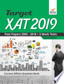 Target Xat 2019 Past Papers 2005 2018 5 Mock Tests 10th Edition