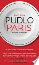 Pudlo Paris  2007 2008