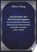 Geschichte der Schweizertruppen