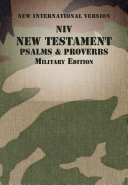Niv New Testament With Psalms And Proverbs Military Edition Paperback
