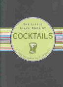 The Little Black Book of Cocktails Book