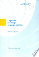 Objectives For Foreign Language Learning